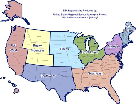 regional map of the usa map of usa and regions usa map region area map of canada