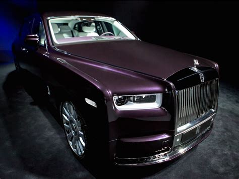 rolls royce the rolls royce phantom is the most technologically