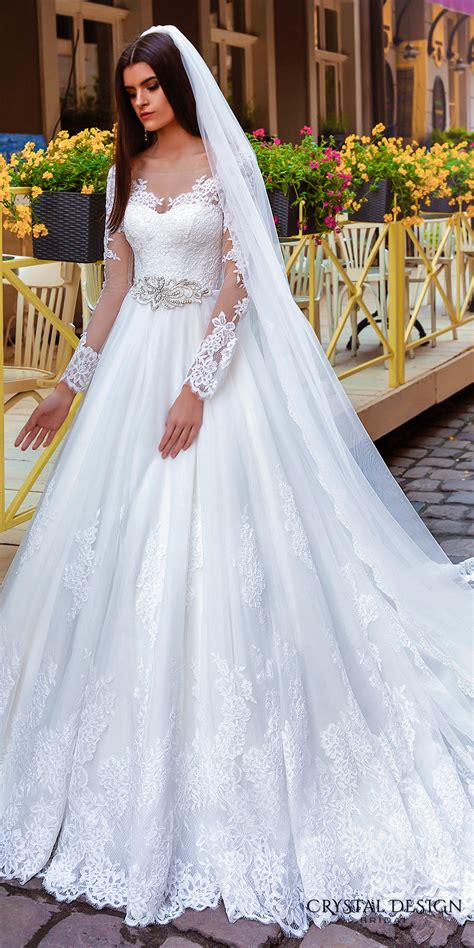 bridal gown design crystal design 2016 wedding dresses wedding inspirasi