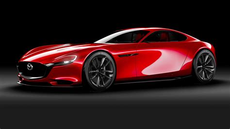 mazda rotary mazda rx 9 previewed with rx vision rotary concept at