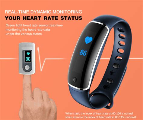 LYNWO M4 Health Blood Pressure Band Heart Rate Monitor Wristband Bracelet Sale   Banggood.com