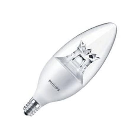 philips led candle light bulbs philips 457234 3 5b12 led 827 22 e12 dim candle led