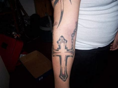 cross tattoo under arm cross tattoo on arm
