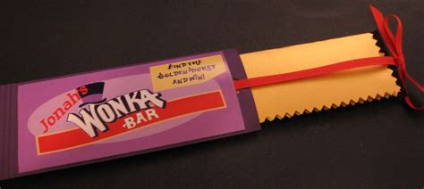 willy wonka bar wrapper template is in the details wonka chocolate factory