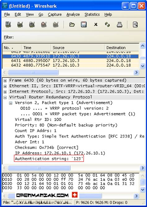 wireshark tutorial router top of the page