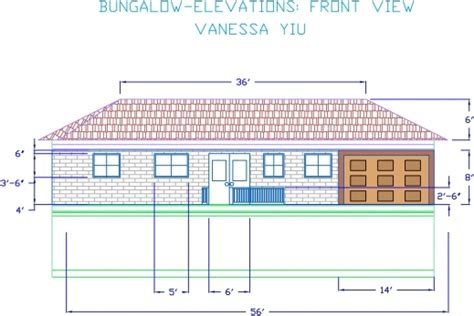 autocad 2d house plans with elevation house plan ideas