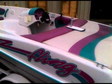 94 four winns jet boat sold 1994 four winns fling 115hp 14 jet boat youtube