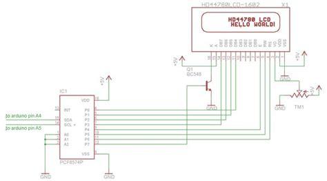 zend framework 2 layout per module lcd i2c con pcf8574a pcf8574ap