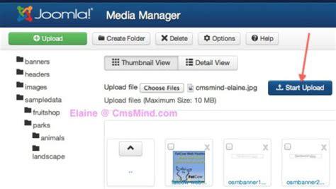 tutorial for joomla 3 3 joomla 3 0 tutorial how to upload images to a subfolder