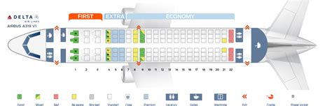 airbus a321 cabin layout seat map airbus a319 100 delta airlines best seats in plane