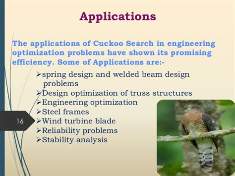 Applications Of Metaheuristic Optimization Algorithms In Civil Eng cuckoo optimization ppt