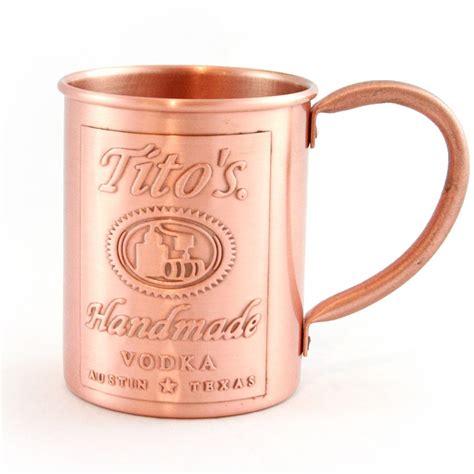 Tito's Handmade Vodka Store Tito's Custom Copper Mug