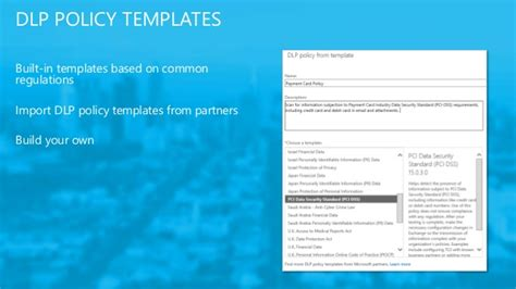 Credit Card Security Policy Template Uk Melbourne Office 365 User October 2014
