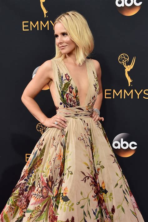 Carpet Clothes From Gorgeous Couture by 2016 Emmys Kristen Bell In Zuhair Murad Couture Tom