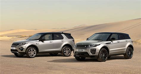 range rover sport price discovery sport and range rover evoque prices slashed