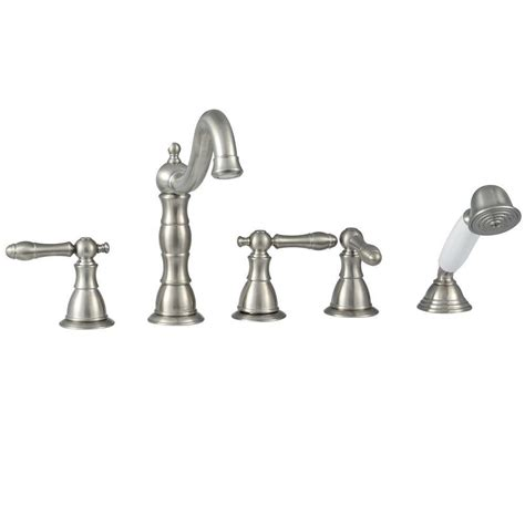glacier bay lyndhurst bathroom faucet glacier bay lyndhurst 2 handle roman tub faucet with