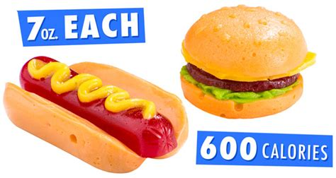 fast food dogs gummy fast food and cheeseburger made of gummy