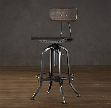 Fancy Counter Stools by Fancy Vintage Toledo Chair Distressed Black Bar