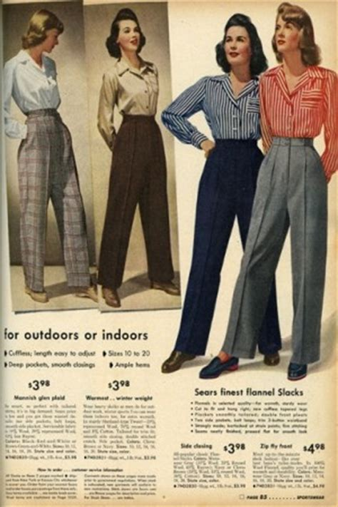 latest fashiont trand for ladies late 40 women s 1940s pants styles history and buying guide