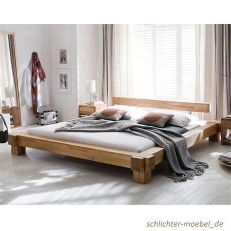 Doppelbett 200x200 by Holzbett Massivholzbett Doppelbett Bett Massiv