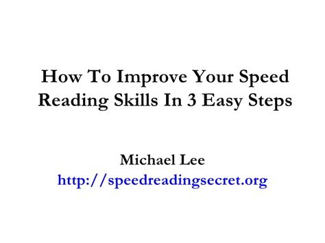 how to speed read 300 improved reading speed today a easy guide the learning development book series books how to improve your speed reading skills in 3 easy steps
