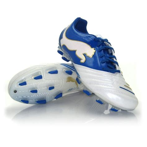 Powercat 1 12 Diskon powercat 1 12 fg mens football boots white blue