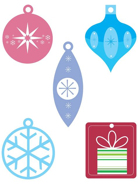 printable christmas photo ornaments free christmas templates printable gift tags cards