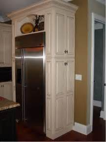 kitchen refrigerator cabinets pantry beside refrigerator ideas pictures remodel and decor
