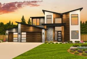 contemporary house plan  casita ms