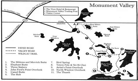 monument valley usa map monument valley map map of monument valley united