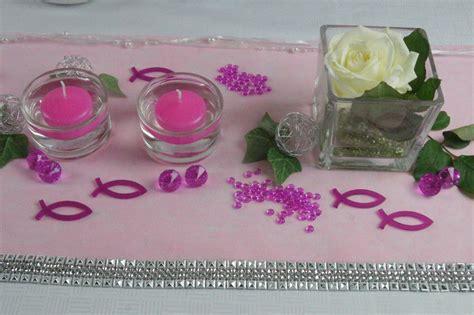 Tischdeko Hochzeit Pink by Tischdekoration Kommunion Pink Tischdeko Kommunion
