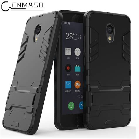 Meizu Mx5 Mx 5 Iron Armor Stand Casing Cover T1310 2 מוצר meizu m5c soft tpu armor shockproof stand silicone phone back cover shell meizu m5