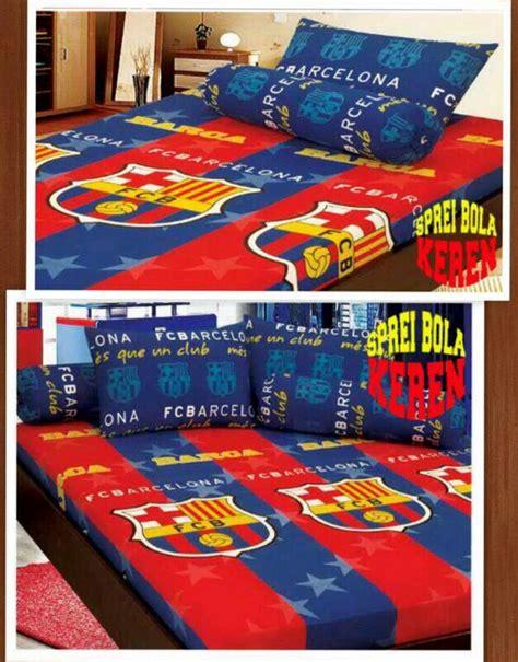 Sprei Monalisa Barcelona Uk 160x200 sprei bola keren spreibolakeren