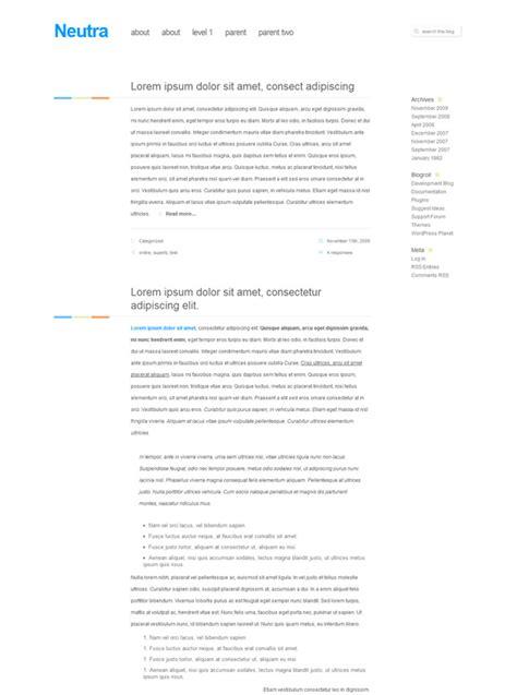 wordpress layout vorlagen niedlich minimalistische blog vorlagen fotos beispiel