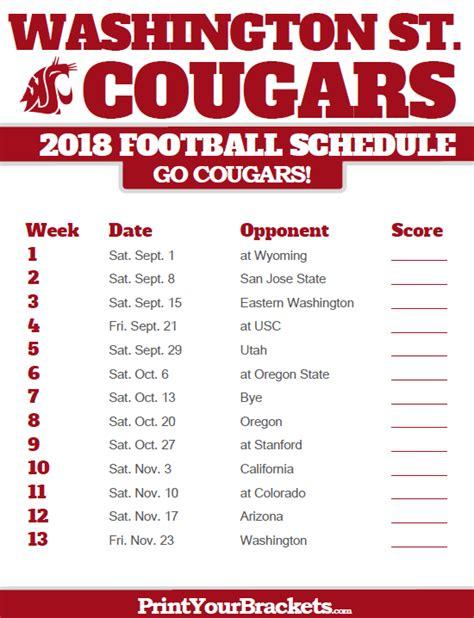 Washington State Academic Calendar Wsu 2017 Calendar My