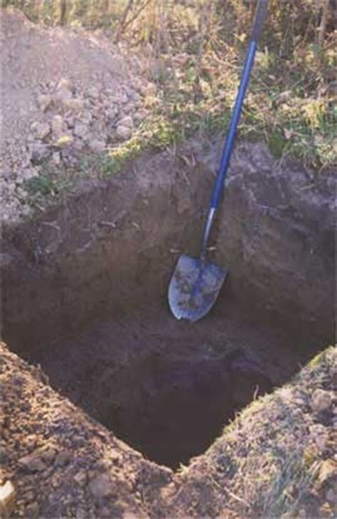 how to dig a pit the kickapoo loo a frame outhouse located in wisconsin