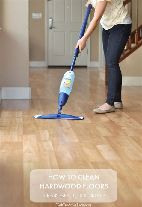 how to really clean hardwood floors 25 cleaning hacks for your home creative juice
