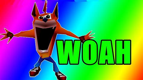 Crash Bandicoot Meme - woah crash bandicoot dank meme compilation 2017 youtube