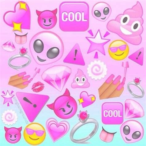 emoji wallpaper pink 214 best emojis images on pinterest