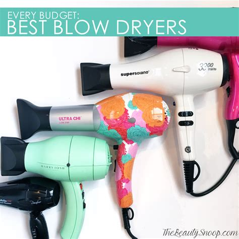 Hair Dryer Best Budget the snoop best dryers for every budget