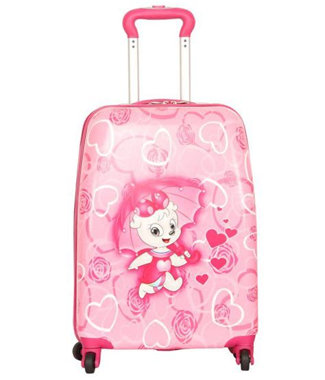 Doctor Pink Trolley 3 In 1 sonada pink 4 wheel trolley buy sonada pink 4 wheel trolley at low price snapdeal
