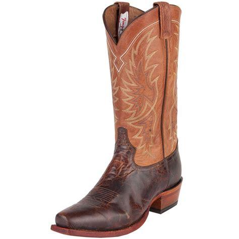 shop s tony lama brown and cowboy boot
