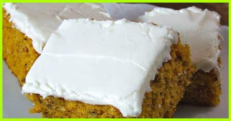 weight watchers pumpkin cake recipe dreamy pumpkin cake with cheese frosting