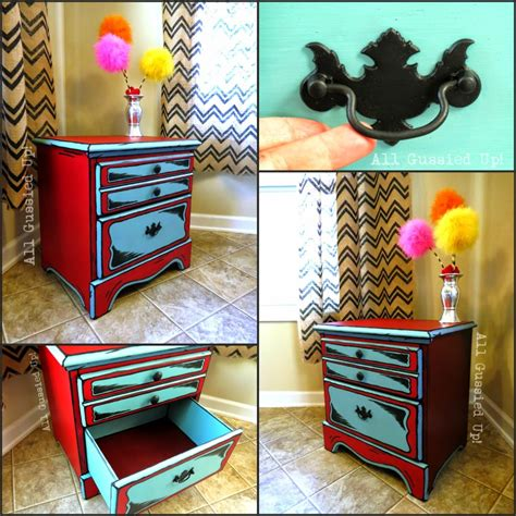folk chalk paint diy dr seuss illustrations inspired stand and table