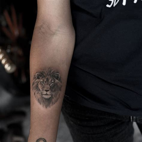 small lion head tattoo tattoos ideas meaning and symbolism of