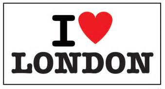 Love london sticker sold at europosters