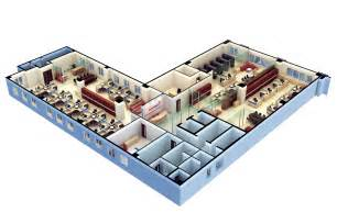 Free Office Floor Plan 3d floor plan software free with modern office design for