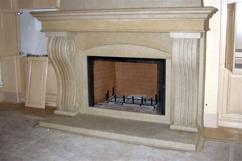 Limestone Fireplace Hearth by Limestone Marble Fireplaces Center Portland Or