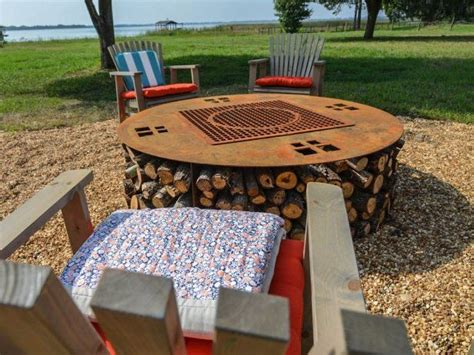 diy upcycled pit how to make cabin s pit gt gt http diynetwork maderemade how to cabin