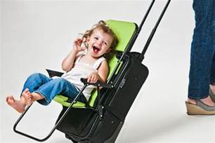 Ride On Ride On Carry On Child Seat Meets Luggage Shark Tank